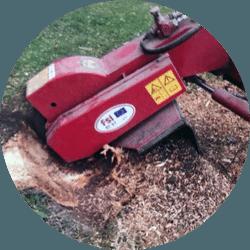 Buskrydning Ringsted, rød stubfræser
